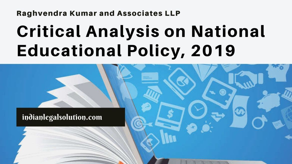 Critical Analysis on National Educational Policy, 2019