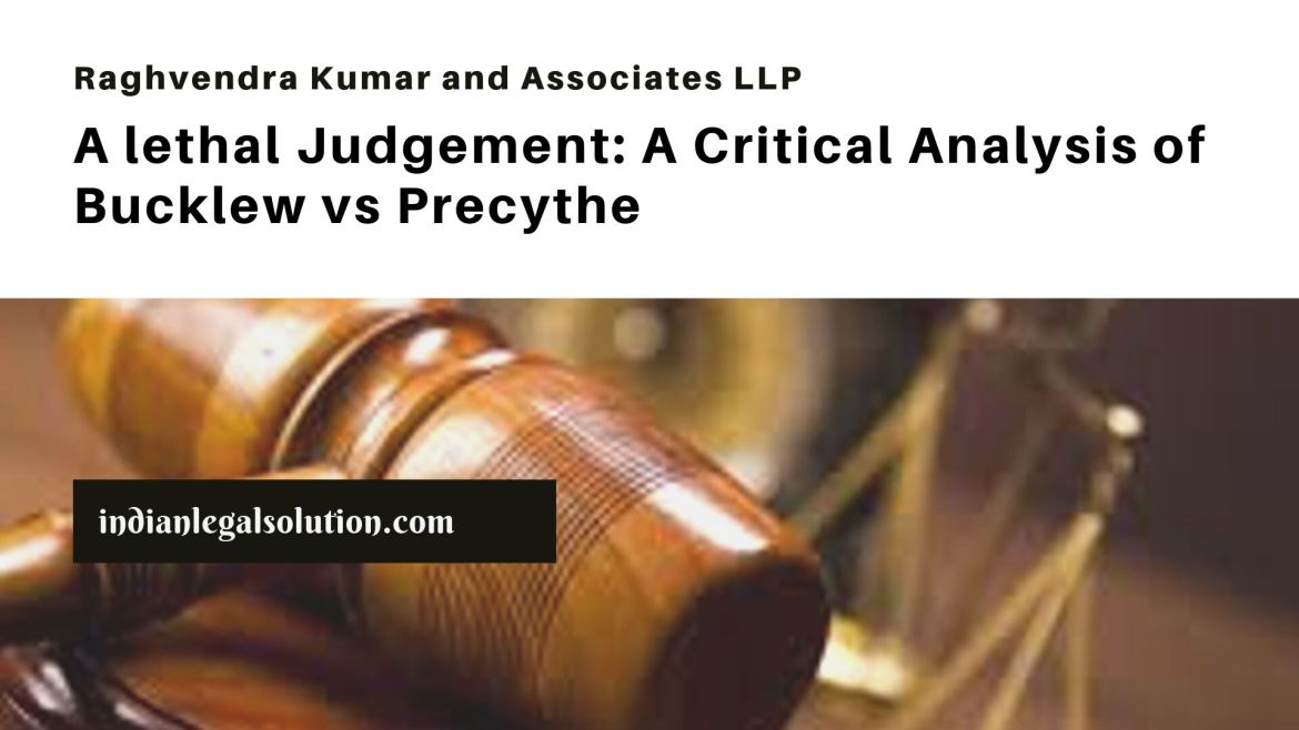 A lethal Judgement: A Critical Analysis of Bucklew vs Precythe
