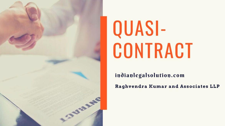 Quasi-Contract