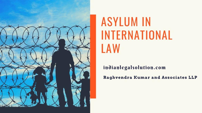 Asylum in International Law