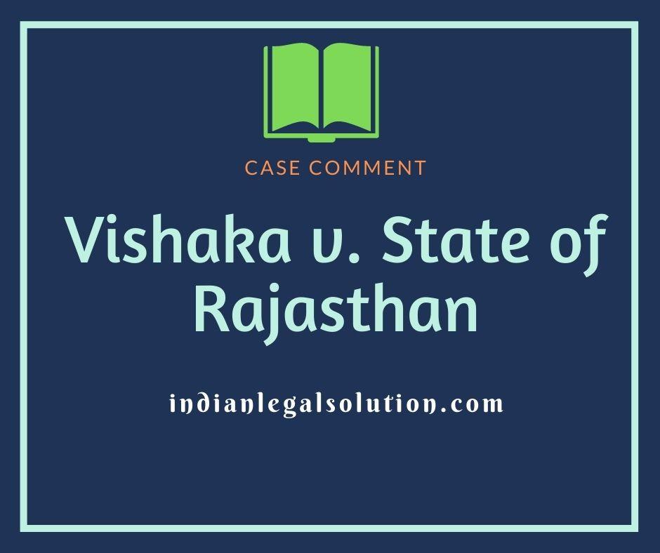 Vishaka v. State of Rajasthan