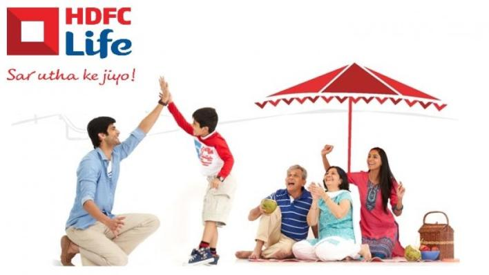 hdfc life insurance result highlights along with technical view on stock.