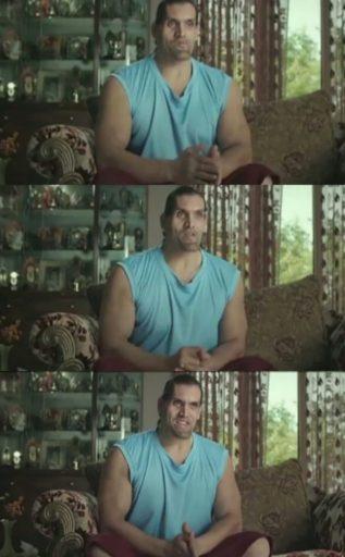 Ek Din Mausi Ne Bataya Ambuja Cement Se Ghar Bana Lo great khali meme template