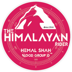 The Himalayan Rider badge