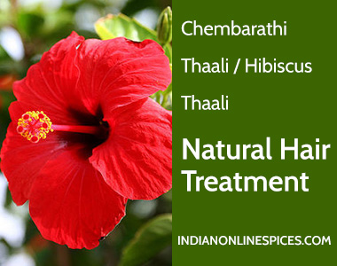 Chembarathi Thaali Hibiscus Thaali Natural Hair Treatment