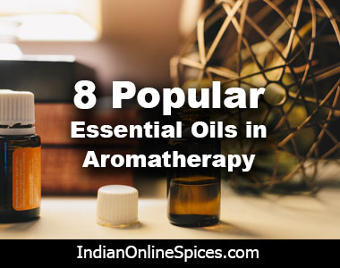 esential oils in aroma therapy