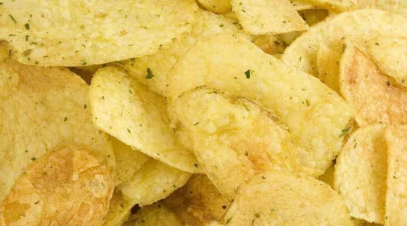 Homemade Instant crispy aloo chips