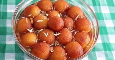Suji ke gulab jamun indian sweet