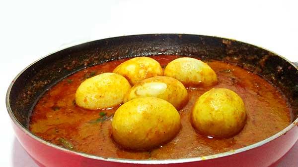 Anda curry recipe