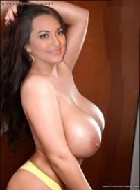 Sonakshi Sinha XXX Nude Photos Nangi Chut Gand Bollywood actress porn 4
