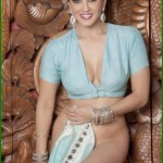 Sunny Leone takes off her saree bra and panties and showing sexy boobs and ass Bollywood actress Sunny Leone nude 12
