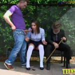 Getting fucked in front of my grandfather Abella Danger gets fucked and facialized at the bus stop Full HD Porn00002