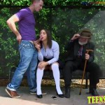 Getting fucked in front of my grandfather Abella Danger gets fucked and facialized at the bus stop Full HD Porn00007