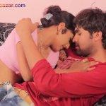 Hot Bhabi Romance with SalesMan Ka Romance fucking as doggy style playing with tits Big Boobs Full HD Porn00008