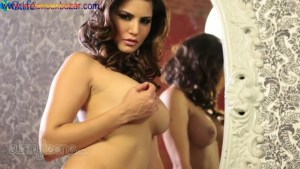 Hot Indian mommy Sunny Leone gets totally undressed I suck and fuck her Big tits Boobs Full HD Porn00047