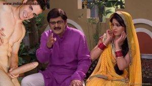 अंगूरी भाभी के नंगे फोटो भाबी जी घर पर हैं Shilpa Shinde Porn Anguri Bhabhi With Big Black Cock xxx photo fucking images (3)