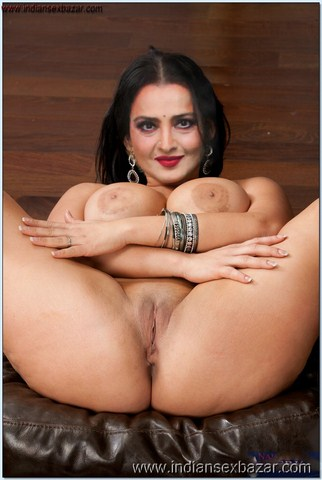 Rekha Nude Photos showing Boobs and Hairy Pussy Images Fucking Open Gand Pics XXX 37