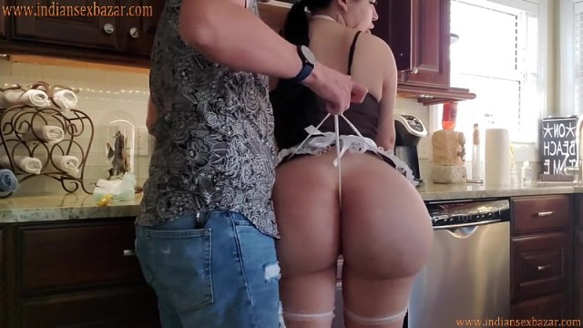 Busty Maid With Wide Hips Fucked By House Owner Full HD Porn Video And XXX Pictures 5