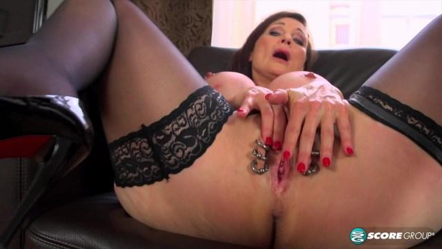 Mature Milf With Big Tits And Pierced Pussy XXX Full HD Porn Video 8