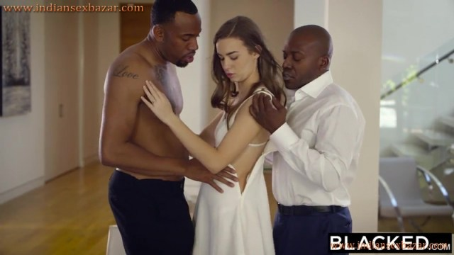 18 Years Old Teen Tali Dova Fucked By Two BBC Threesome Full HD Porn Video And XXX Pic 1