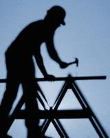 IS Stock Clip Art Man with Hammer