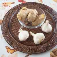 Homemade Ginger Garlic Paste Ingredients