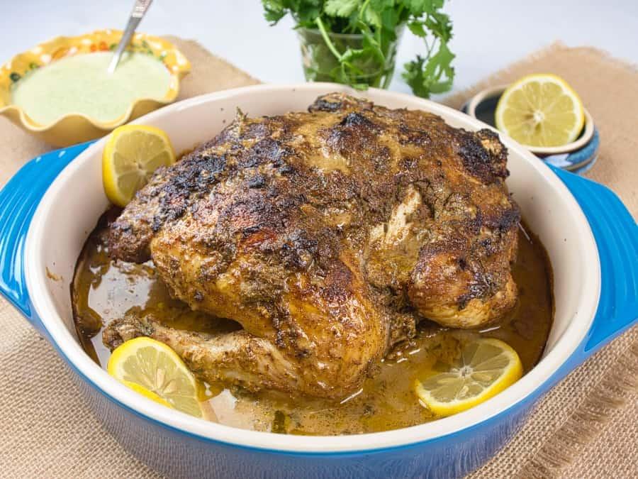 Easy Roast Tandoori Chicken