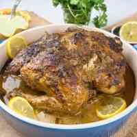 Tandoori roast chicken (murgh)