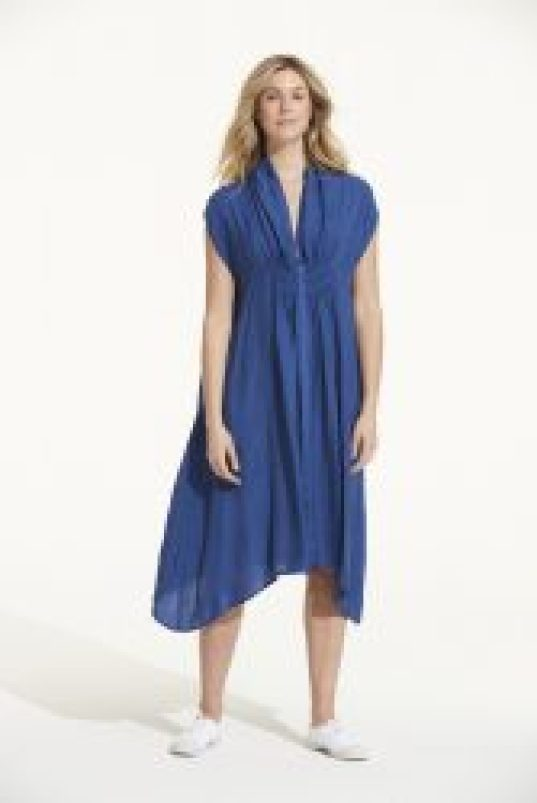 OS FLO DRESS ROYAL BLUE R3299
