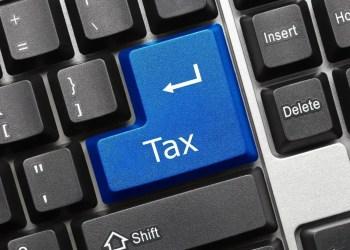 Income Tax Keyboard