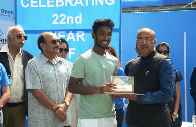 Nitin 2016 Fenesta Nationals Sports Minister Vijay Goel