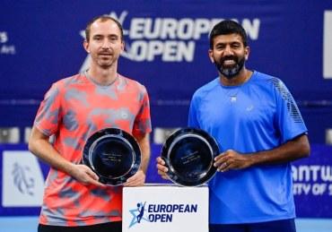 Rohan Bopanna - European Open finalist