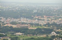 Mysore Skyline from Chamundi hills