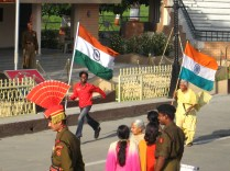 Wagah Border Ceremony Pictures 1