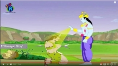 ekalavya_animation_for_children_mahabharat_hindi_12