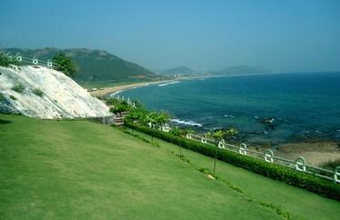 Beach View Of Tenneti Beach Park Visakhapatnam