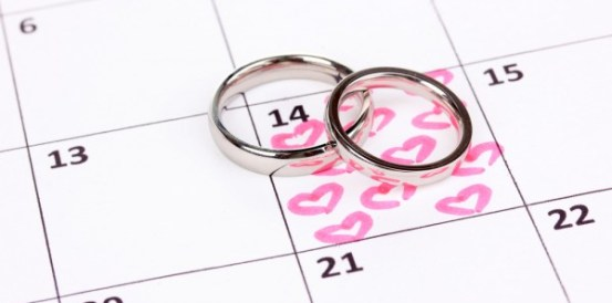 wedding dates planning and choices in 2018