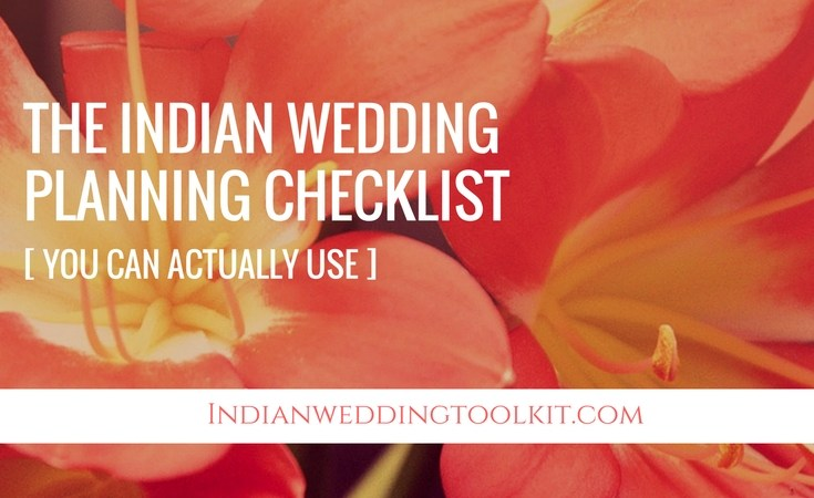 The indian wedding planning checklist you can actually use solutioingenieria Choice Image