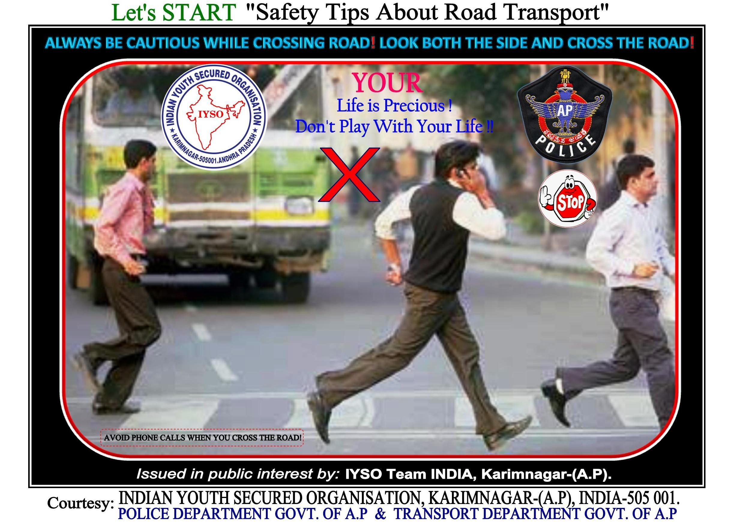 Top Priority Mail Let S Start Safety Tips About Road