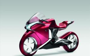 Motorbike-Honda-V4-Concept-Widescreen-Bike