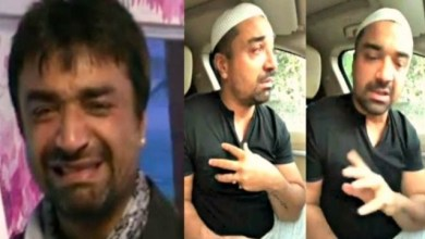 "Photo of Ajaz Khan said ""I am not a Hindu, not a Muslim, I am an Indian"" After receiving a brutal beating from Mumbai police"