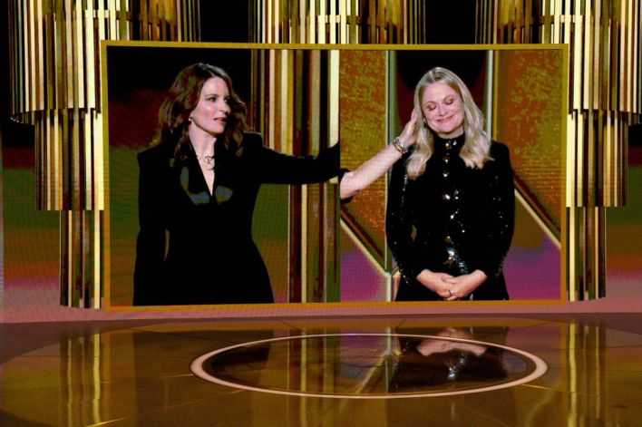 The Endearing Messiness of the 2021 Golden Globe Awards