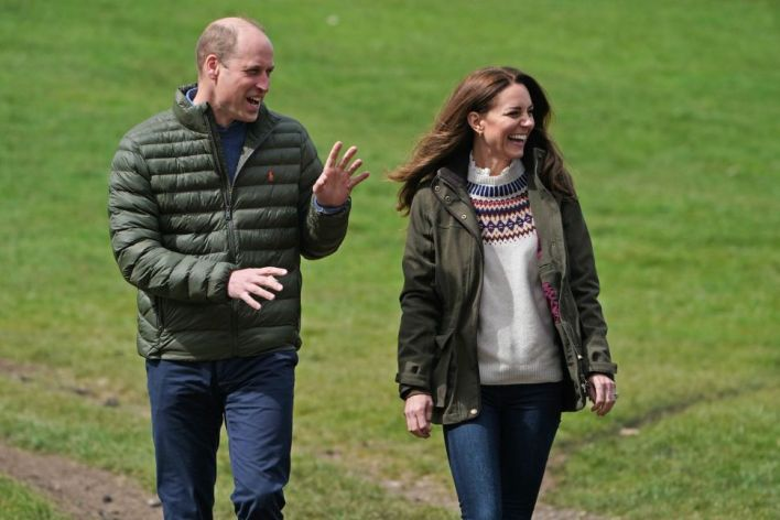 Prince William and Kate Took Their Children on a Helicopter Trip This Weekend