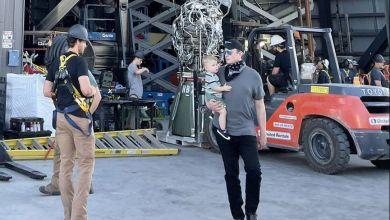 Photo of Elon Musk Brings Baby X to Starship Launch Pad Forward of Orbital Exam
