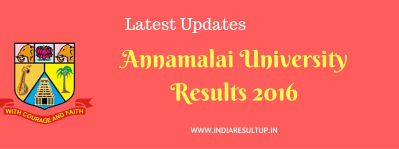 Annamalai University Results