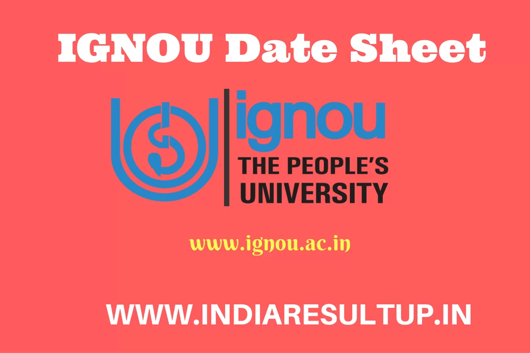 ignou date sheet Ignou date sheet june 2018 (term end exam) ignou has announced the date sheet for june 2018 term end exam they are scheduled from june 1, 2018 to june 22, 2018.