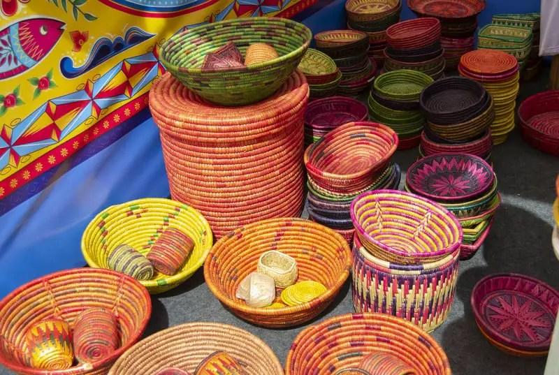Sikki grass craft