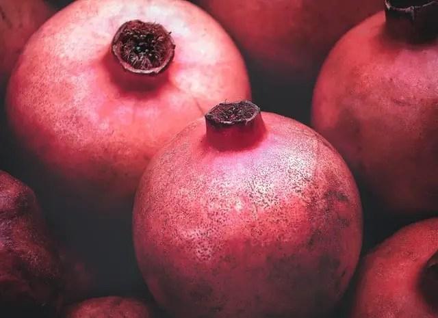 Pomegranate fruits name