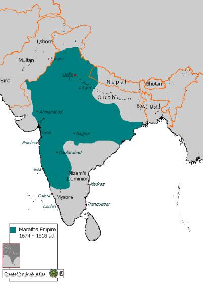 maratha kingdom India