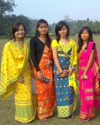 assam traditional costumes